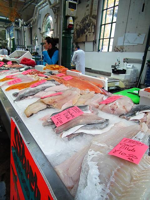 Fish at St George's Market, Belfast