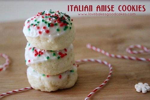 Italian Anise Cookies 10