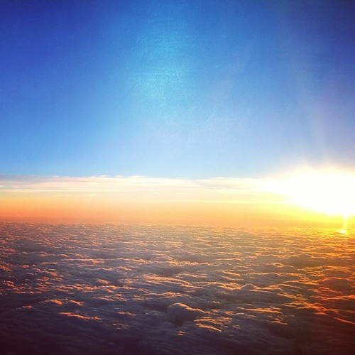 Flying home from MI to WI. by je.brewer