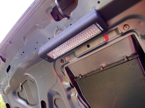 AP 72 LED Work Light Black