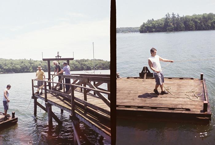 Maine Through A Golden Half Camera 3