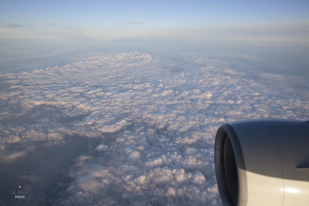 Descent into Sapporo