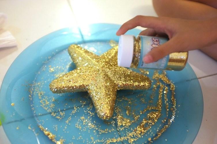 making the gold star