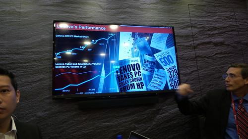 ในขณะที่ตลาดพีซีหดตัว แต่ Lenovo กลับมีส่วนแบ่งตลาดเพิ่มขึ้น