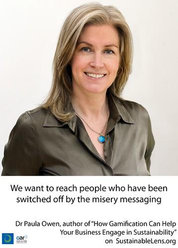 Paula Owen on Sustainable Lens