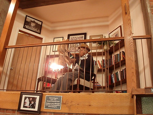 Tattered Cover Book Store: Charlie Shugarts Sculpture