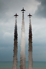 Red Arrows sculpture