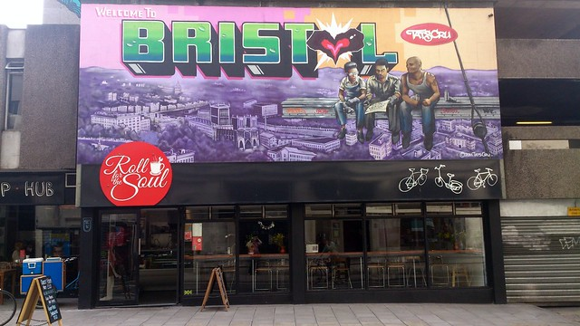 Welcome to Bristol by Tats Cru