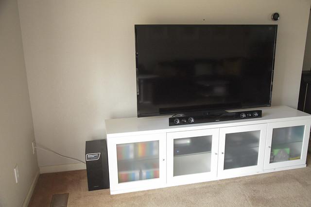 Living TV Setup
