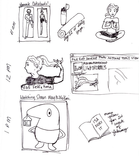 hourly comic day