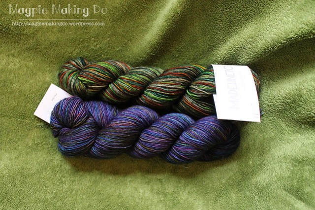 Madeline Tosh Merino light together