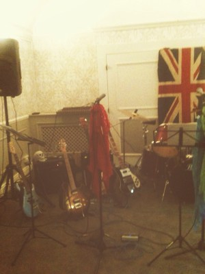 Instruments set up