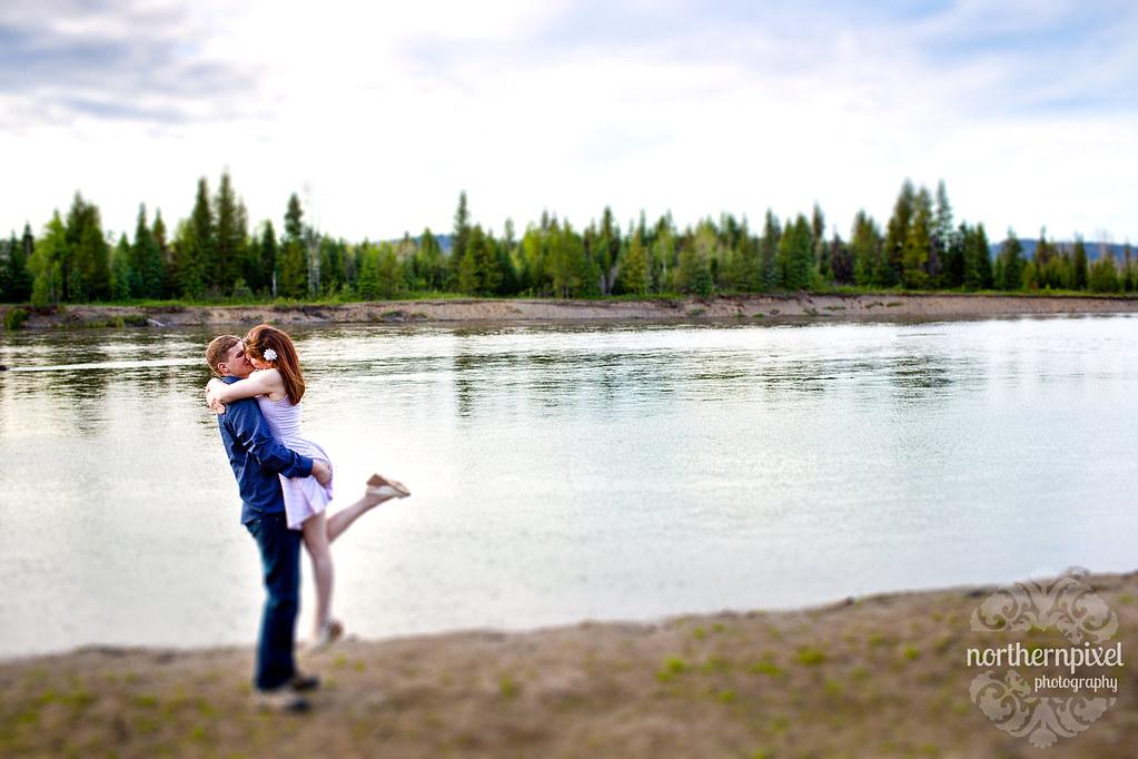 Nechako River Engagement Session