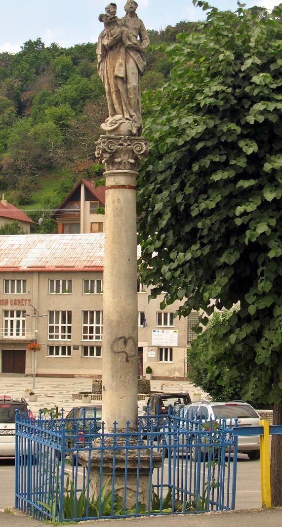 Mariánsky stĺp v M. Kameni