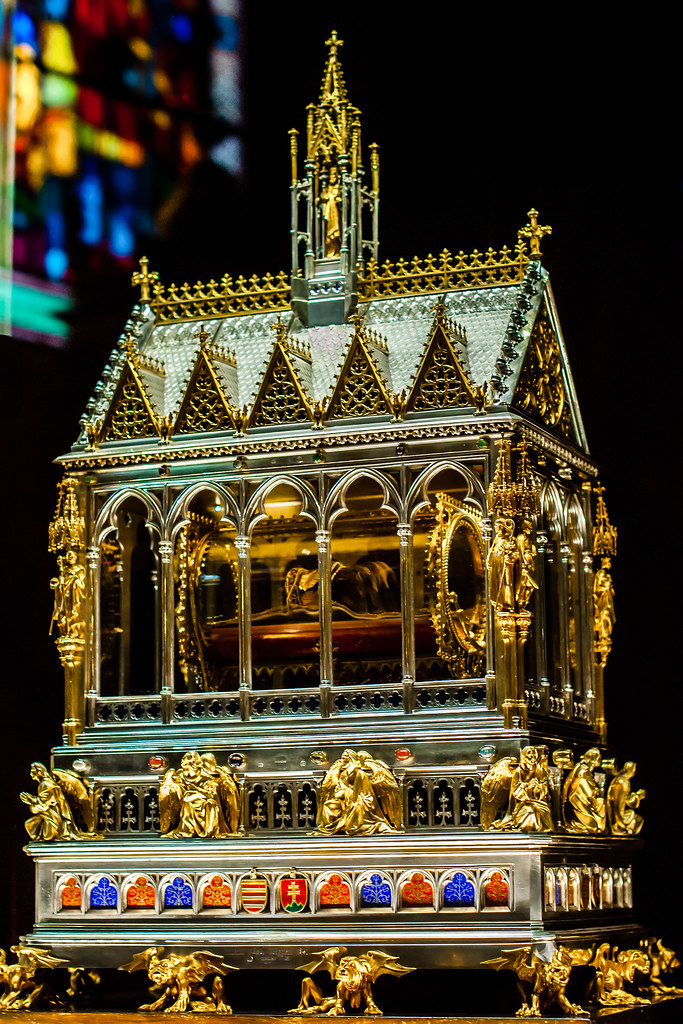St. Stephen's Hand Reliquary, St. Stephen Basilica, Budapest, Hungary