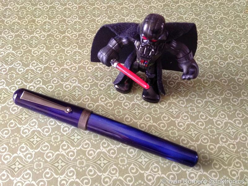 Delta Serena Fountain Pen and Darth Vader