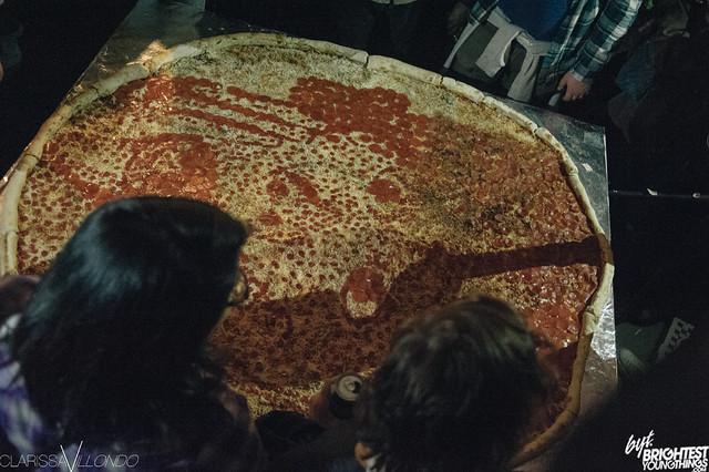HITS: Pizza Art Show