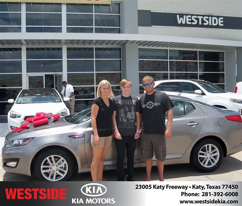 Westside KIA Houston Texas Customer Reviews and Testimonials - Harold Brooks by Westside KIA