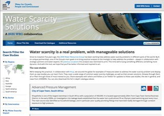 Water Scarcity Website