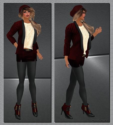 sweet tweed red (WLTB)