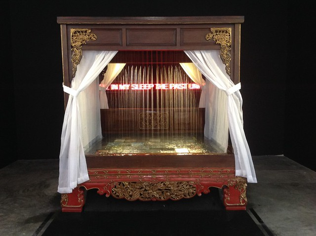FX Harsono, The Raining Bed