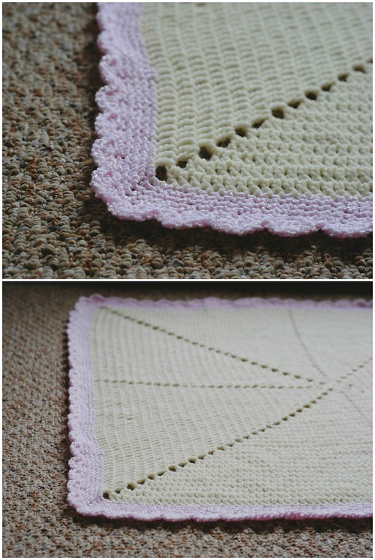 Star Burst Baby Blanket