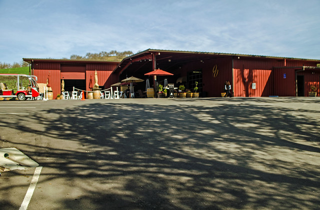 All three trails start from the parking lot in front of the tasting room.