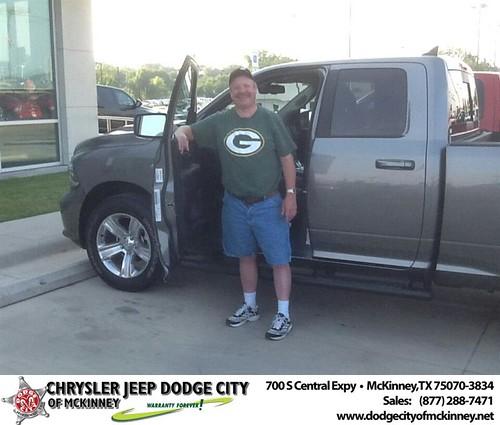 Thank you to John Morgan on the 2013 Ram 1500 from Joe Ferguson  and everyone at Dodge City of McKinney! - Copy by Dodge City McKinney Texas