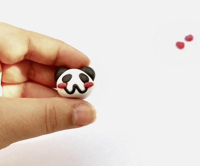 Panda fimo tutorial 12