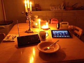 Candlelit supper