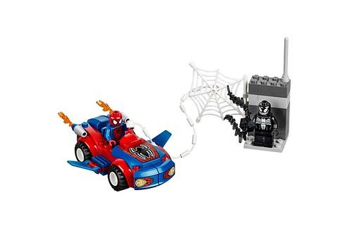 10665 Juniors Spider-Man Spider-Car Pursuit