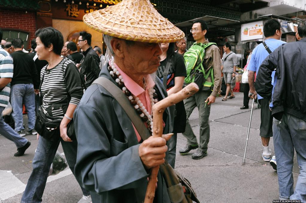 Elder in town