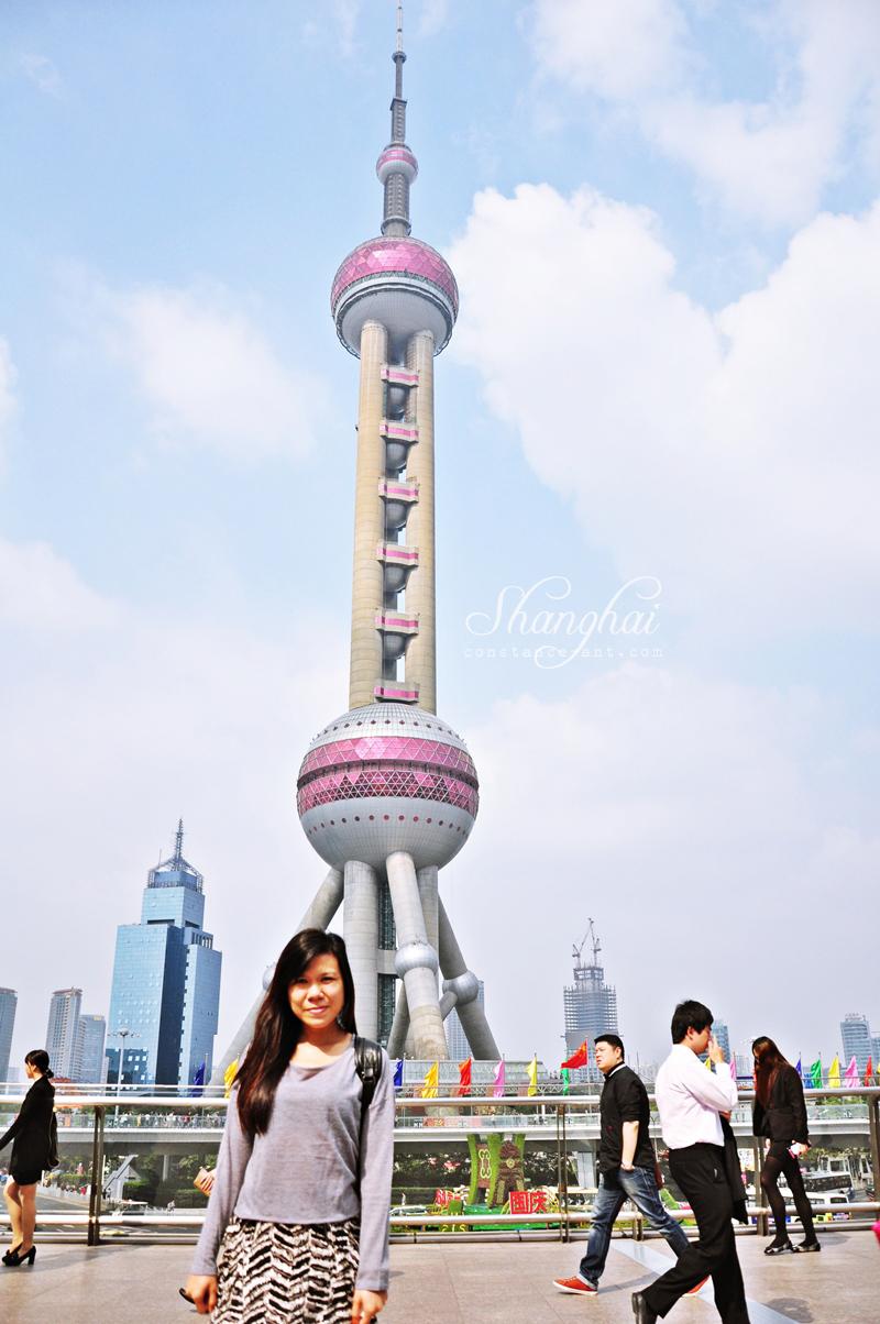 {Shanghai} Oriental Pearl Tower