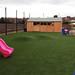 woodmansterne Primary school artificial grass playground