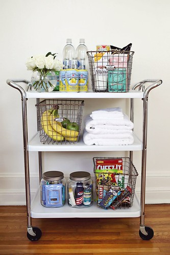 guest room trolley