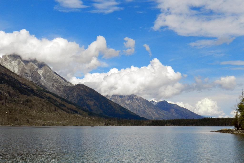 Lago Jenny Parque Nacional de Grand Teton Wyoming EEUU 05