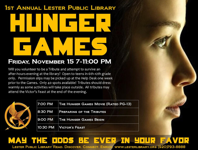 1st Annual Hunger Games