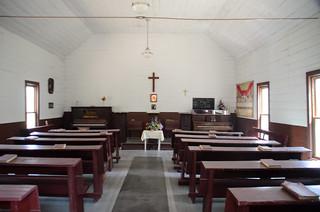 Mount Sterling Baptist Church Interior