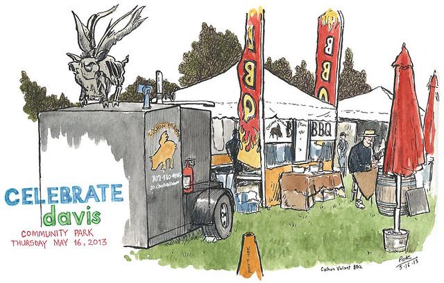 celebrate davis 2013: cochon volant