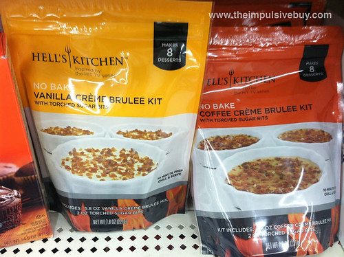 Hell's Kitchen Creme Brulee Kits