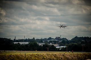 P-51 Landing