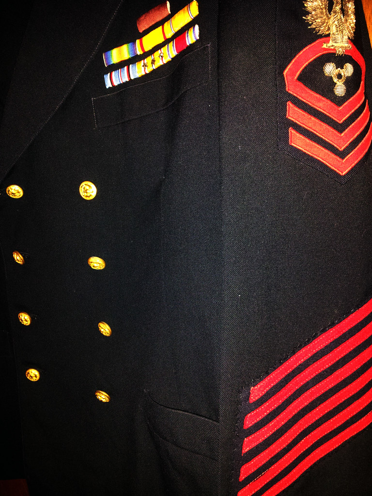 WWII CPO machinist's mate jacket