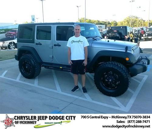 Dodge City McKinney Texas Customer Reviews and Testimonials-Chris Sefcik by Dodge City McKinney Texas