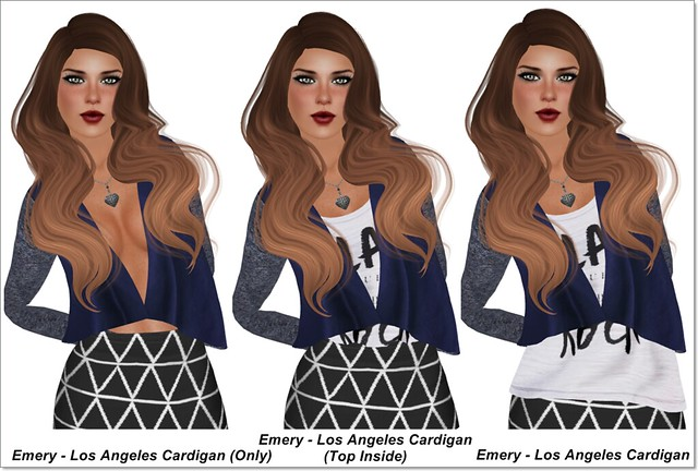 Emery - Los Angeles Cardigan Options