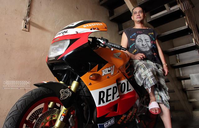 Honda RC212V Cuswil Maravilla AKO Photowalk 2013 Kalibo Aklan