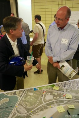 Alderman Cappleman at the North Lake Shore Drive, first project meeting