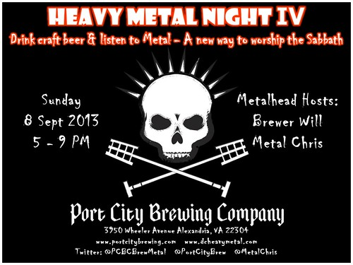 Metal Night IV at Port City Brewery