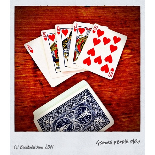 28/1/2014 - games people play {cards} #photoaday #cards #games #play
