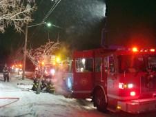 House fire December 2010