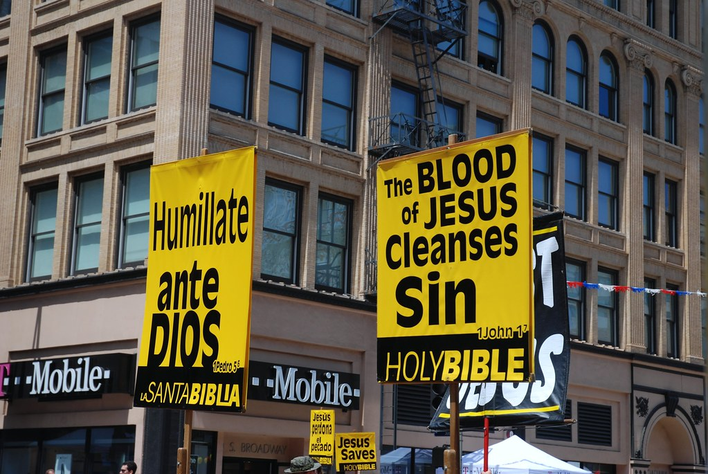 Religious Banners Everywhere
